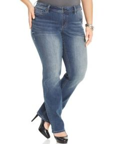 Style & Co. Embellished Bootcut Bandit Wash Jeans, Only at Macy's ...