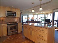 Beachfront Rentals, Port Aransas, Rental Property, Vacations, Condo, The Unit, Website, Bathroom, Kitchen