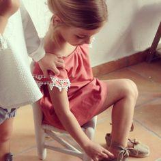 enamorada de este vestido