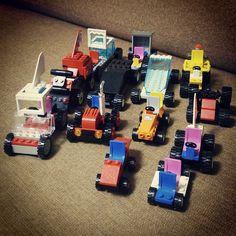 正面から。 LEGOカーズ。