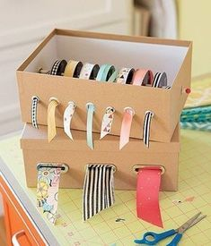 Home Decor Using Grommets - Who would have thought that simple .- Home Decor Using Grommets – Wer hätte gedacht, dass einfache kleine Ringe aus …. Home Decor Using Grommets – Who would have thought that simple little rings made of … have - Craft Room Storage, Craft Organization, Storage Ideas, Organizing Ideas, Organizing Life, Kitchen Storage, Pegboard Craft Room, Storage Baskets, Towel Storage