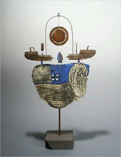 Ship by artist Christina Wiese