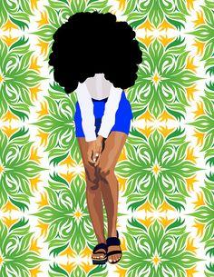 fyblackwomenart: Solange.www.nataliexblake.tumblr.comIG:_Natalie...