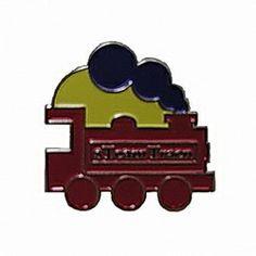Geocaching / Geocoin lapel pin: sTeamTraen, silver