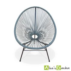 Acapulco gris http://www.alicesgarden.fr/mobilier-jardin/chaise/huevo-fauteuil-oeuf?selected=708