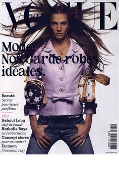French Vogue Cover - February 2003