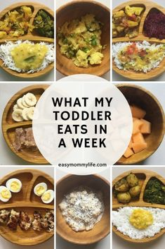 What My Toddler Eats In A Week. This fun series documents what my toddler eats in a week. Read on to get some baby led weaning toddler feeding ideas and inspiration. #toddlerfoodideas #babyledweaning #babyledweaningtips #babyledweaningideas #whatmytoddlereatsinaweek