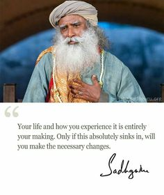 quotes by sadhguru jaggi vasudev to pin - Google Search