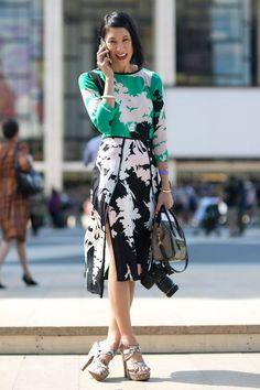 Best-Dressed Street Style at New York's Fashion Week | Vanity Fair