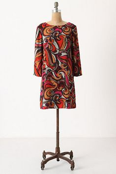 looks vintage to me!    flavia shift #anthropologie