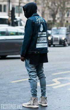 #mensfashion FashionBeans x Fashion week x street fashion