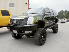 only cool escalade Escalade Esv, Cadillac Escalade, American Auto, Lifted Trucks, Best Mom, Monster Trucks, Vehicles, Van, Toys