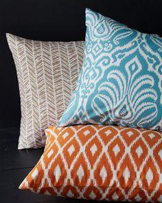 Orange Tribal Print Comforter Cover