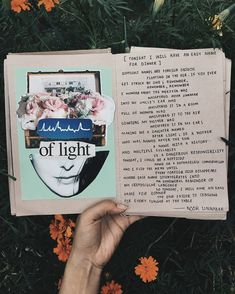 [Tonight I Will Have An Easy Name For Dinner] art journal + poetry by Noor Unnahar // journaling ideas inspiration, diy craft mixed media collage notebook diary, tumblr indie pale grunge hipsters aesthetic aesthetics, instagram creative  photography artists, words quotes writing women writers of color pakistani //