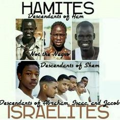 Although Yisrael is in the land mass of Africa we are NOT the same people, remember we are not a hamitic race but a semitic race.