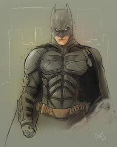 Dark Knight Batman by ~antmanx68