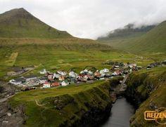 Little village Gjógv