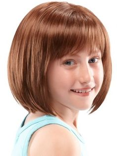Children's/Ultra Petite Wig. This ultra lightweight, shoulder length bob, creating the appearance of natural hair growth. This simple style is a childhood classic.