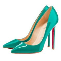 I NEED these---->Christian Louboutin Pigalle 120 Pointed Toe Pumps Jade Cheap Christian Louboutin, Designer High Heels, Giuseppe Zanotti Heels, Pointed Toe Pumps, Pumps Heels, Louboutin Pumps, Louboutin Online, Stilettos, Me Too Shoes