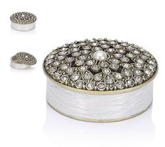 Diamante and Pearl Trinket Box | Find Your Brands