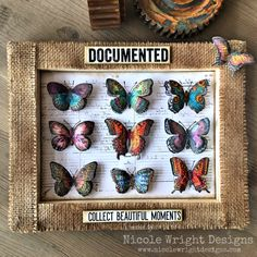 Collect Beautiful Moments With This Documented DIY