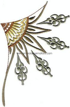 Necklines - Machine Embroidery Designs