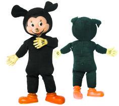 1950 - MICKEY, jouet en coton et résine, années'50, collection privée © Solo-Mâtine Boys, Fictional Characters, Collection, Toys, Furniture, Senior Boys, Sons, Guys, Fantasy Characters