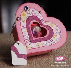 Caixas para lembrancinhas - Coração http://toplembrancinhas.com/caixas-para-lembrancinhas/  #artesanato