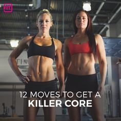 A strong core will help to improve posture, relieve lower back pain, prevent injury, and improve your balance. Try these 12 ab exercises for a killer core.