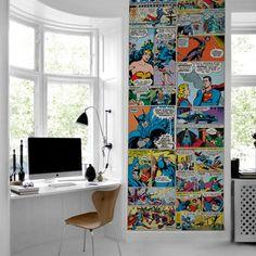 Papel de Parede DC Comics