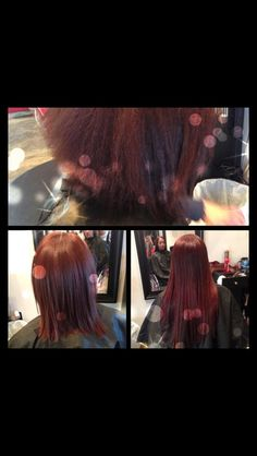 Hair extensions and a Brazilian blowout by Jandy Taylor @Jandy HairExtensions Taylor