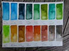 Hünicke Rostock colors watercolor yellows 002 jpg 1000 688 color charts