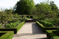 Louis Benech Landscape Design - the kitchen garden of an 18th-century French château.