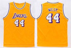 Jerry West Los Angeles Lakers Jerseys