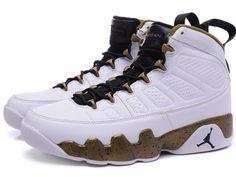 f4fdb6f73407 Air-Jordan-9-Retro-Copper-Statue-White-Black-Militia-Green-1