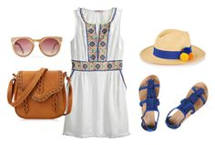 """Tourist"" by faith-jennings on Polyvore featuring Calypso St. Barth, Dorothy Perkins and Prymal"
