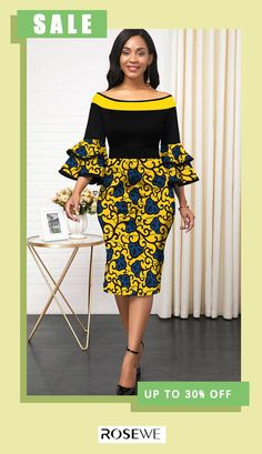 Ships within 24 hours & Women fashion dashiki printed cute african fashoin pretty dress for summer