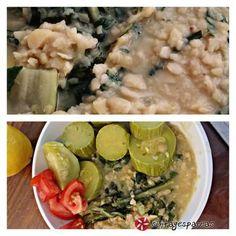 Κουκιά με λάχανα (σέσκουλα) και κολοκυθάκια Risotto, Meat, Chicken, Ethnic Recipes, Food, Essen, Meals, Yemek, Eten