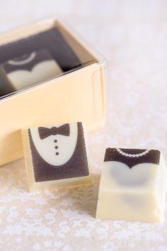 Wedding Gift Ideas for Every Budget - Molly Bakes Milk Chocolate Ganache, White Chocolate, Beautiful Wedding Cakes, Chocolates, Basil, Wedding Favors, Caramel, Raspberry, Groom