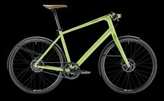 Canyon Commuter 7.0 lime green