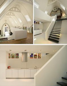 This is an amazing church to home remodel! The outside is historic, the inside is modern clean.