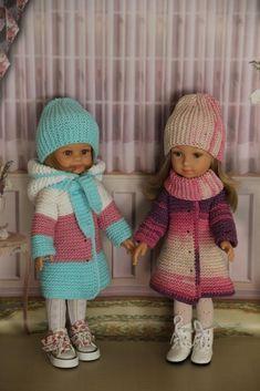 American Girl, Baby Dolls, Barbie, Crochet Hats, Pattern, Clothes, Dresses, Fashion, Easy Crochet Patterns