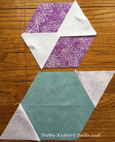 Debby Kratovil Quilts: Technique Tuesday: Fun with Layer Cakes Hexagon Quilt Pattern, Star Quilt Patterns, Star Quilts, Quilt Blocks, Amish Quilts, Quilting Tips, Quilting Tutorials, Quilting Designs, Hand Quilting