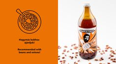 Hedon Craft Brewery Identity - Art Direction on Behance by Flying Objects Beer label illustration