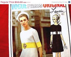 Hey, I found this really awesome Etsy listing at https://www.etsy.com/listing/153199479/20-off-patterns-sale-1960s-vogue-paris