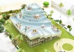 How about a business with a pool on the roof?  1 | You Deserve A House With A Pool On The Roof | Co.Design: business + innovation + design