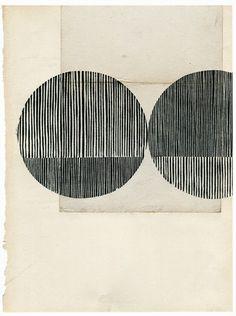 """vjeranski: """" Kate Castelli Tiny Little* woodblocks on vintage paper 7 x 9.5"""" """""""