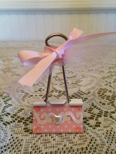 You HAVE to admit...this Pink & Prissy Binder Clip...is stinkin ' Cute!!!
