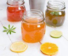Rezept Tonic Sirup von Chef Hansen - Rezept der Kategorie Getränke