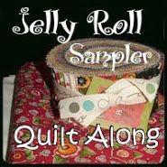 Jelly Roll Sampler Quilt Along                                                                                                                                                                                 More